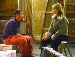Toadie Rebecchi, Steph Scully in Neighbours Episode 3443