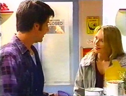 Drew Kirk, Steph Scully in Neighbours Episode 3443