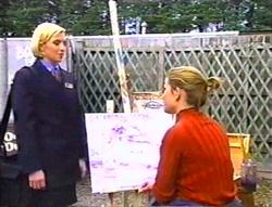 Amy Greenwood, Anne Wilkinson in Neighbours Episode 3443