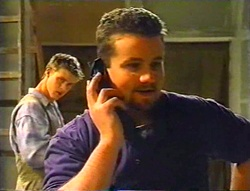 Billy Kennedy, Toadie Rebecchi in Neighbours Episode 3443