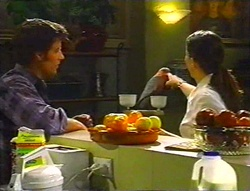 Drew Kirk, Dahl, Libby Kennedy in Neighbours Episode 3443