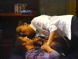 Libby Kennedy, Drew Kirk in Neighbours Episode 3443