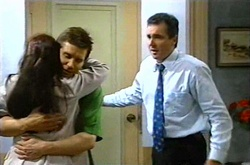 Susan Kennedy, Darcy Tyler, Karl Kennedy in Neighbours Episode 3739