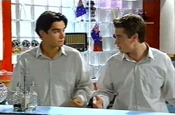 Paul McClain, Tad Reeves in Neighbours Episode 3739