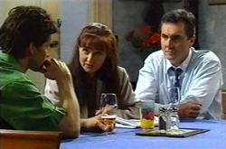 Darcy Tyler, Susan Kennedy, Karl Kennedy in Neighbours Episode 3739