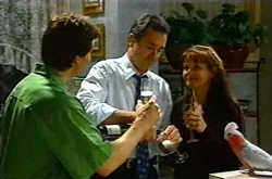 Darcy Tyler, Karl Kennedy, Susan Kennedy, Dahl in Neighbours Episode 3739