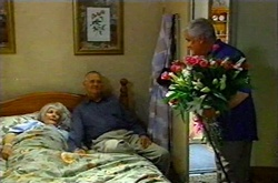 Madge Bishop, Harold Bishop, Lou Carpenter in Neighbours Episode 3739