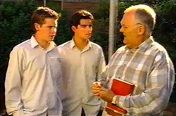 Tad Reeves, Paul McClain, Harold Bishop in Neighbours Episode 3739