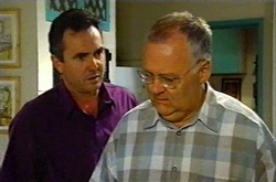 Karl Kennedy, Harold Bishop in Neighbours Episode 3739