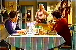 Tad Reeves, Harold Bishop, Paul McClain in Neighbours Episode 3742
