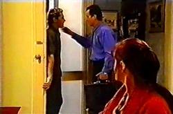 Joel Samuels, Karl Kennedy, Susan Kennedy in Neighbours Episode 3742