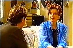 Joel Samuels, Lyn Scully in Neighbours Episode 3742