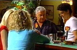 Dee Bliss, Tess Bell, Lou Carpenter, Matt Hancock in Neighbours Episode 3743