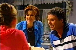 Michelle Scully, Lyn Scully, Joe Scully in Neighbours Episode 3743