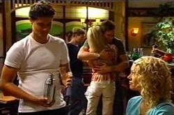 Matt Hancock, Dee Bliss, Darcy Tyler, Tess Bell in Neighbours Episode 3743