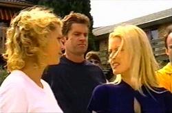 Tess Bell, Evan Hancock, Dee Bliss in Neighbours Episode 3743