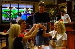 Dee Bliss, Darcy Tyler, Evan Hancock, Tess Bell, Matt Hancock in Neighbours Episode 3743