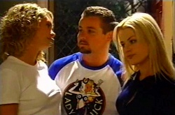 Tess Bell, Toadie Rebecchi, Dee Bliss in Neighbours Episode 3744