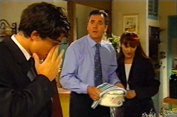 Paul McClain, Karl Kennedy, Susan Kennedy in Neighbours Episode 3744