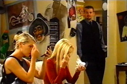 Tess Bell, Dee Bliss, Toadie Rebecchi in Neighbours Episode 3744
