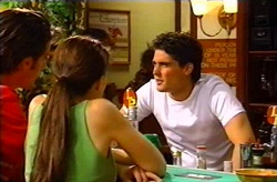Drew Kirk, Libby Kennedy, Matt Hancock in Neighbours Episode 3745