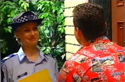 Sgt. Joanna Douglas, Toadie Rebecchi in Neighbours Episode 3746