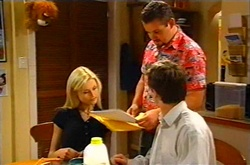Dee Bliss, Toadie Rebecchi, Tad Reeves in Neighbours Episode 3746