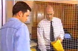 Larry Woodhouse (Woody), Steve Bates in Neighbours Episode 3747