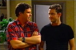 Joe Scully, Larry Woodhouse (Woody) in Neighbours Episode 3748