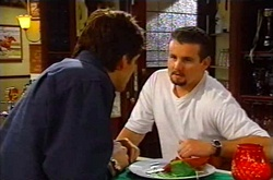 Darcy Tyler, Toadie Rebecchi in Neighbours Episode 3750