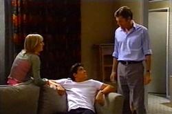 Maggie Hancock, Matt Hancock, Evan Hancock in Neighbours Episode 3750