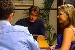 Larry Woodhouse (Woody), Drew Kirk, Steph Scully in Neighbours Episode 3751