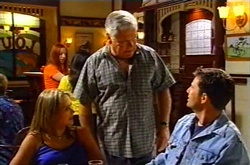 Lou Carpenter, Steph Scully, Larry Woodhouse (Woody) in Neighbours Episode 3751
