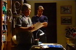 Lou Carpenter, Drew Kirk in Neighbours Episode 3751