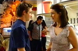 Tad Reeves, Toadie Rebecchi, Jess Fielding in Neighbours Episode 3751