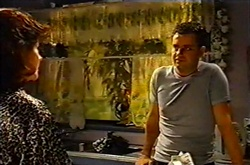 Lyn Scully, Larry Woodhouse (Woody) in Neighbours Episode 3753