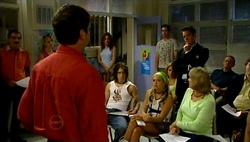 David Bishop, Liljana Bishop, Dylan Timmins, Sky Mangel, Paul Robinson in Neighbours Episode 4731