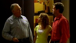 Harold Bishop, Serena Bishop, David Bishop in Neighbours Episode 4731
