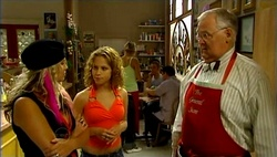 Sky Mangel, Serena Bishop, Harold Bishop in Neighbours Episode 4732