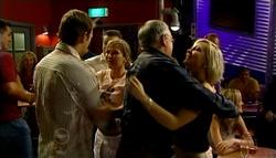 Stuart Parker, Steph Scully, Harold Bishop, Sindi Watts in Neighbours Episode 4733