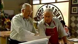 Harold Bishop, Lou Carpenter in Neighbours Episode 4733