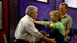 Lou Carpenter, Steph Scully, Max Hoyland in Neighbours Episode 4738
