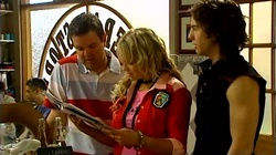 David Bishop, Sky Mangel, Dylan Timmins in Neighbours Episode 4744