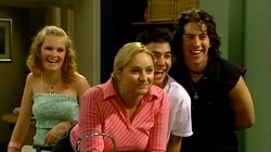 Janae Timmins, Janelle Timmins, Stingray Timmins, Dylan Timmins in Neighbours Episode 4744