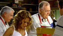 Lou Carpenter, Serena Bishop, Harold Bishop, David Bishop in Neighbours Episode 4746
