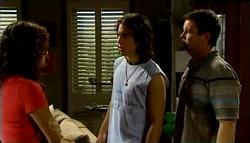 Liljana Bishop, Dylan Timmins, David Bishop in Neighbours Episode 4746
