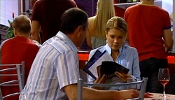 Karl Kennedy, Izzy Hoyland in Neighbours Episode 4747