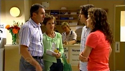 Karl Kennedy, Susan Kennedy, Dylan Timmins, Liljana Bishop in Neighbours Episode 4747