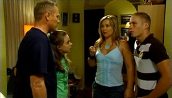 Max Hoyland, Summer Hoyland, Steph Scully, Boyd Hoyland in Neighbours Episode 4748