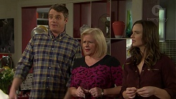 Gary Canning, Sheila Canning, Amy Williams in Neighbours Episode 7491